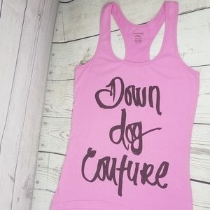 Down Dog Couture YOGA by Juicy Couture Tank